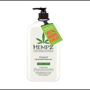 Hempz bonus size original lotion moisturizer